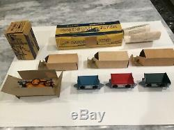 Gilbert American Flyer'S' Gauge 5300T Miner's Work Train Triples Boxed Set Rare