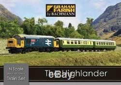 Graham Farish 370-048 The Highlander Digital Train Starter Set (N Gauge)