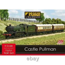 Graham Farish 370-160 Castle Pullman DIGITAL SOUND Effects Train Set (N Gauge)