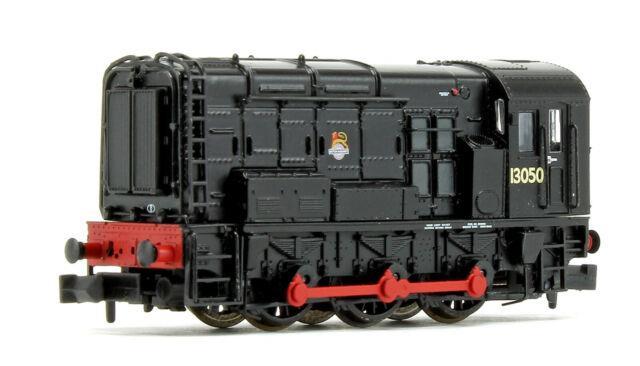 Graham Farish N Gauge Class 08 Disel Shunter Black Br Early Emblem 371-020a