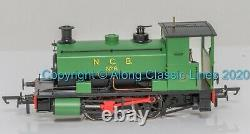 H4-AB16-002, OO Gauge, Andrew Barclay 0-4-0ST 16 2043'No 6' in NCB green
