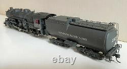 HO Gauge Brass Southern Pacific P-10 4-6-2 No 2479 Custom Painted, Bowser Tender