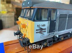 Heljan O Gauge Class 50 50149 Railfreight Livery. Professionally Weathered