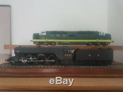Heljan O gauge class 55 deltic BR green