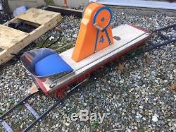 Hodges Hand Car Track Set 8 3/4 GAUGE 20 FOOT DIA