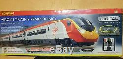 Hornby 00 Gauge R1076 Virgin Trains Pendolino DCC Fitted Digital 4 Car Emu (bv)