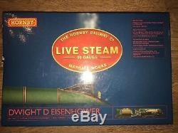 Hornby 00 Gauge R2277 Class A4 4-6-2 Dwight D Eisenhower Green Live Steam