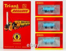 Hornby 00 Gauge R3809/r40141 Stephensons Rocket Train Pack & 3 Open Coaches