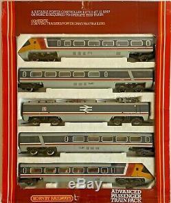 Hornby 00 Gauge R794 Apt Advanced Passenger Train 5 Car Set Inc Pantograph