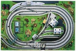 Hornby 00 Gauge R8011 Layout Trakmat with Hornby Nickel Silver Track