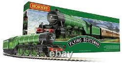 Hornby Flying Scotsman OO Gauge Model Train Set R1255M