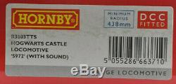 Hornby Harry Potter Hogwards Castle OO Gauge Locomotive With TTS Sound R3803TTS