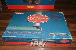 Hornby Live steam A4 Dwight D Eisenhower 00 Gauge Train excellent boxed