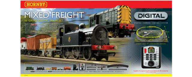 Hornby Mixed Freight Train Set Oo Gauge Great Condition