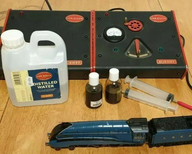 Hornby Oo Gauge Live Steam Mallard A4 Full Set (tested And Operational)