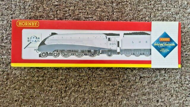 Hornby R2246 Lner 4-6-2 Class A4 Locomotive'quicksilver' 2510 Nrm Ed. Oo Gauge