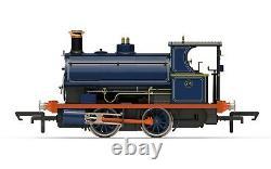 Hornby R3679, 00 Gauge, Class w4 0-4-0T Peckett loco Port of London Authority
