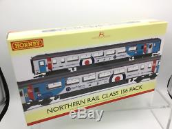 Hornby R3772 OO Gauge Northern Rail RAF Class 156 DMU