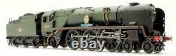 Hornby'oo' Gauge R2587 Br Black Rebuilt Battle Of Britain 4-6-2 Steam Loco