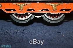 IVES 3236R Std Gauge Loco with185 186 Passenger Cars Orange & Black Tiger Set