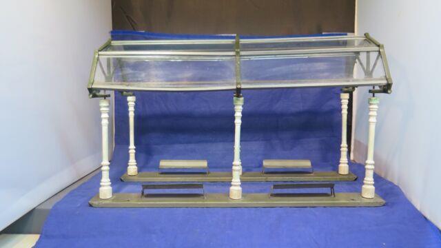 Ives Prewar O Or Standard Gauge 121 Glass Dome Station! Original! 1918-27! Ct