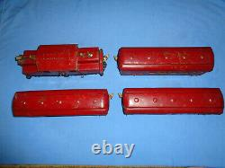 IVES Standard Gauge Set #701R with #3241 Electric Loco & #184, #185 & #186