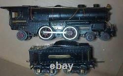 Ives clean 1122 o gauge loco and tender near exc c 1928