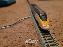KATO # n gauge # 10-327 Eurostar (8 car) powered ## beautiful, see pics