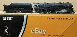 K-Line K3270-5343S NYC/New York Central Hudson Steam Engine withTMCC O-Gauge LNOS