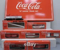 K-line Coca Cola 7 Unit Diesel O Gauge Train Set New! Coke