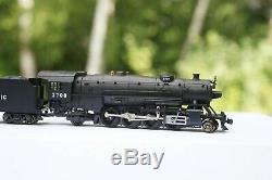 Kato N Gauge Locomotive Union Pacific Heavy Mikado, UP steam locomotive # 2708