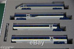 Kato n scale 10-1297 EUROSTAR e300 new color 8 Cars set / n gauge
