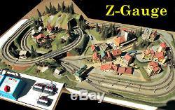 Kibri  Noch  Z-Gauge Pre-Formed Layout Running Condition withTransformers