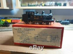 Kit Built Ger/lner F7 2-4-2t Alan Gibson Brass 00 Gauge 4mm