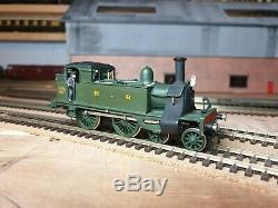 Kit built highland railway 4-4-0 tank 00 gauge 4mm