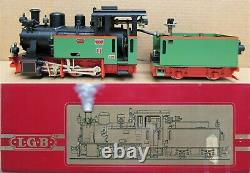 LGB/Aster 2901 Frank S Steam Engine LIVE STEAM withBox G-Gauge USED