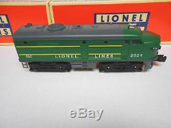 LIONEL 6-82726 POSTWAR AA GREEN ALCO FA ENGINES MAGNE TRACTION O GAUGE train NEW