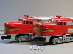 LIONEL AMERICAN FLYER SANTA FE DIESEL AA SET LEGACY S GAUGE train 6-47998 NEW