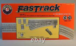 LIONEL FASTRACK 072 LH REMOTE COMMAND SWITCH track o gauge turnout 6-81953 NEW