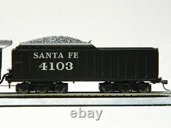 LIONEL HO SCALE SANTA FE CAJON 2-8-4 REMOTE ENGINE/TENDER bluetooth 871811040-E