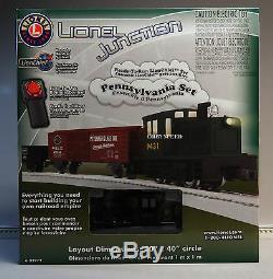 LIONEL JUNCTION PRR DIESEL ENGINE LIONCHIEF TRAIN SET o gauge 6-82972 NEW