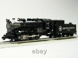 LIONEL LIONCHIEF O GAUGE UNITED STATES STEAM FREIGHT SET withBLUETOOTH 1923100 NEW