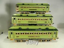 LIONEL ORIGINAL STANDARD GAUGE No 424, 425 & 426 STEPHEN GIRARD PASSENGER CARS
