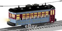 LIONEL O GAUGE POLAR EXPRESS TROLLY TRAIN SET street car lighted lio1923130 NEW