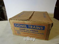 LIONEL POSTWAR O GAUGE BOXED SET No. 2205WS BERKSHIRE FREIGHT SET BEAUTIFUL