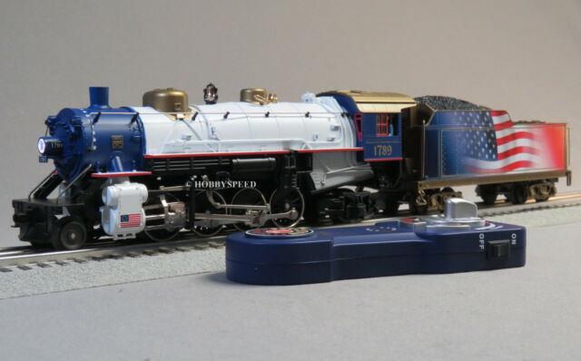 Lionel President Lionchief Plus Mikado Steam Engine O Gauge 2-8-2 Train 6-83605