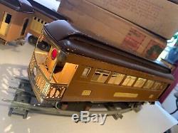 LIONEL STANDARD GAUGE 318E with309,310,312 OB