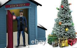 LIONEL The Polar Express Conductor Gateman o gauge train p-e-p 6-82735 NIB NR