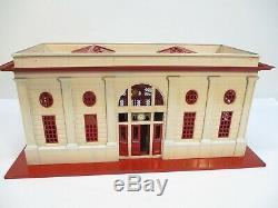 Lionel 116 Train Stop Station Lionel City Cream Red Prewar O Gauge X1620