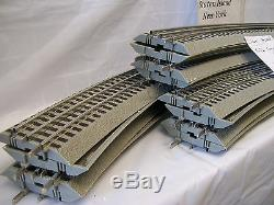 Lionel #12041 Fastrack 16 Pieces O-72 Curved Complete Circle O Gauge Brand New